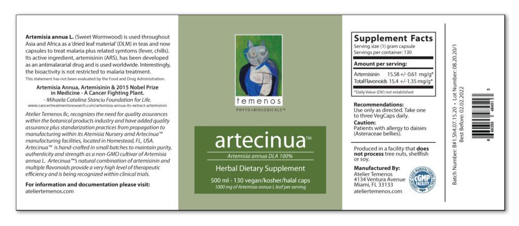 Artecinua Label