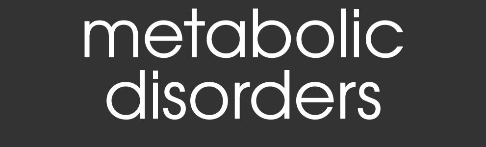 metabolic disorders title